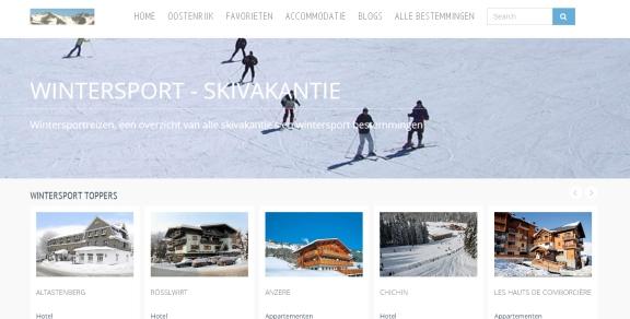 wintersportreizen vakantiescript